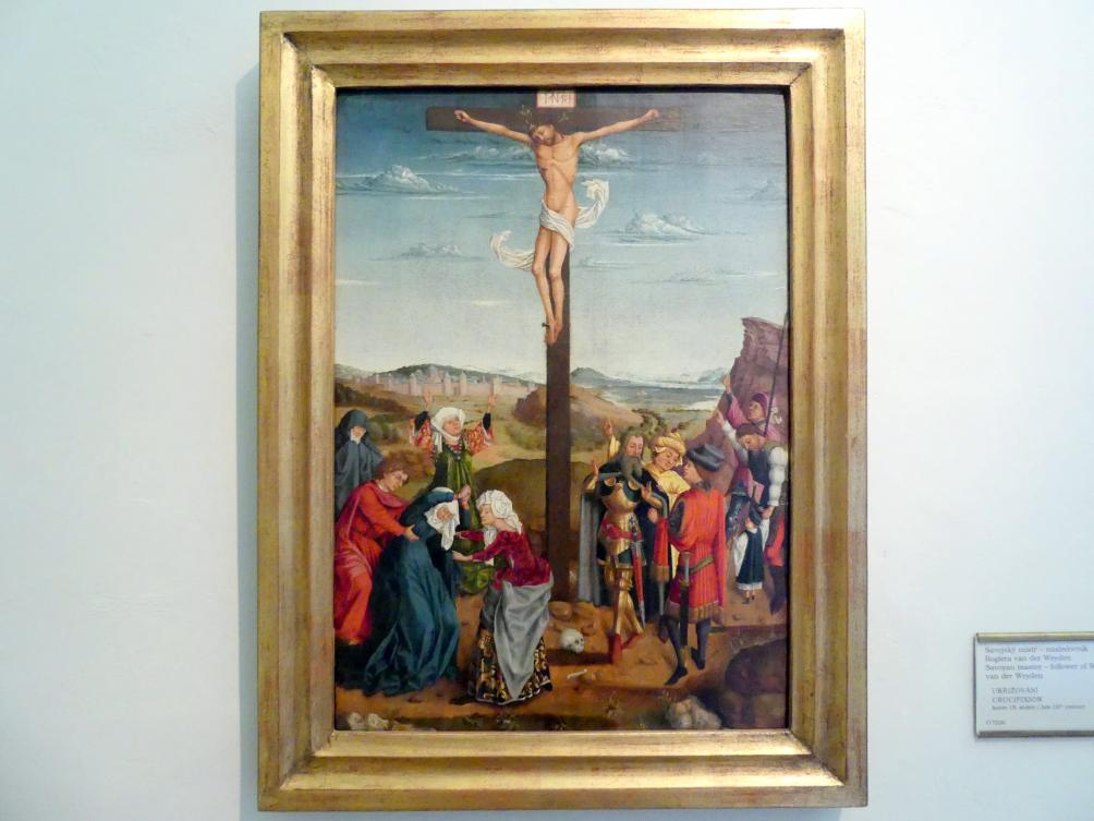 Rogier van der Weyden (Nachfolger): Kreuzigung Christi, Ende 15. Jhd.