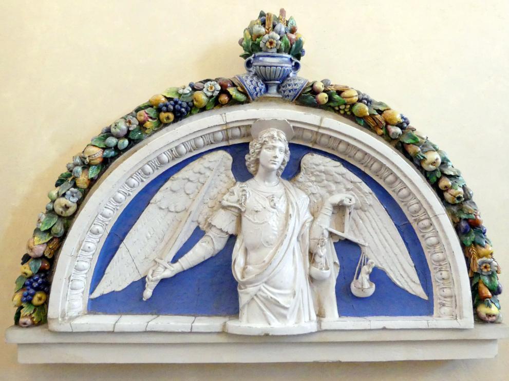 Giovanni della Robbia: Girlande aus Blumen, Früchten und Blättern, Undatiert