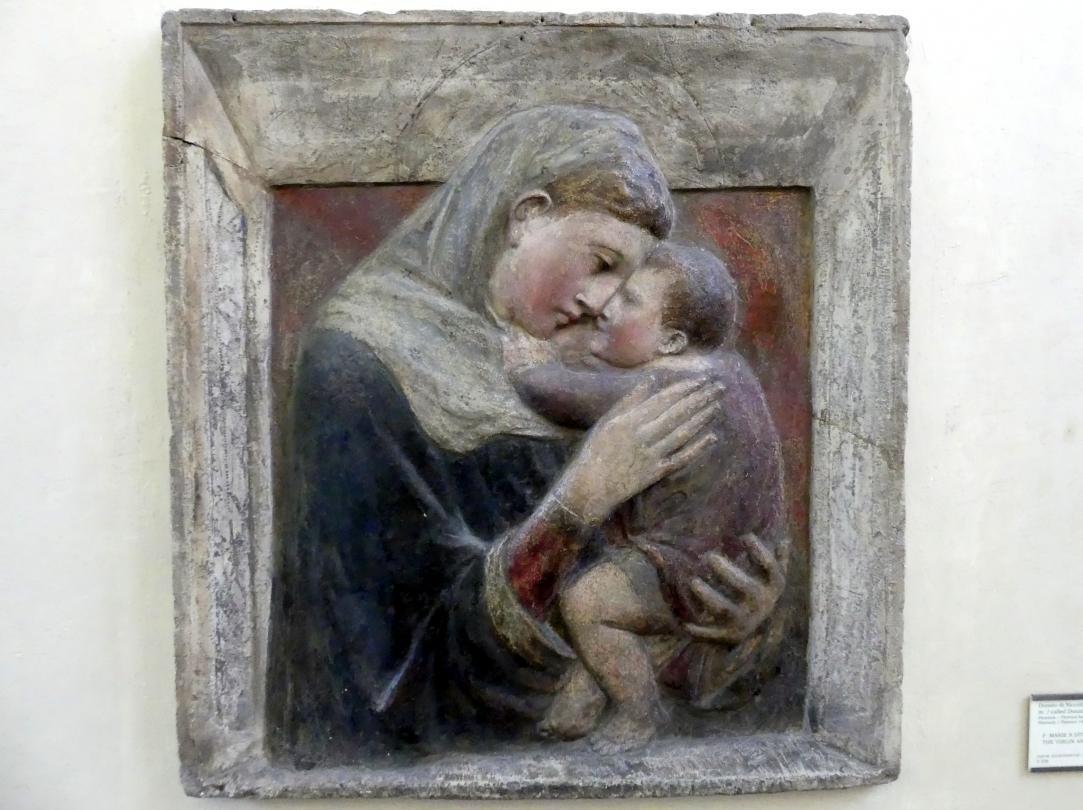 Donatello (Umkreis): Maria mit dem Kind, Undatiert