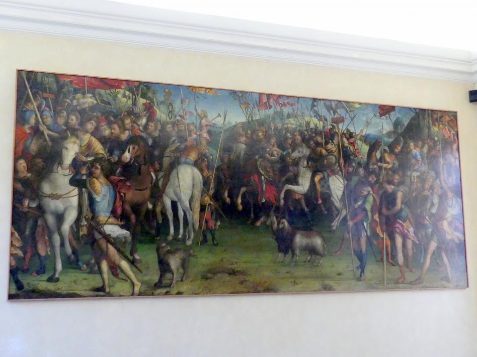 Lorenzo Costa: Triumph des Federico II. Gonzaga, 1522