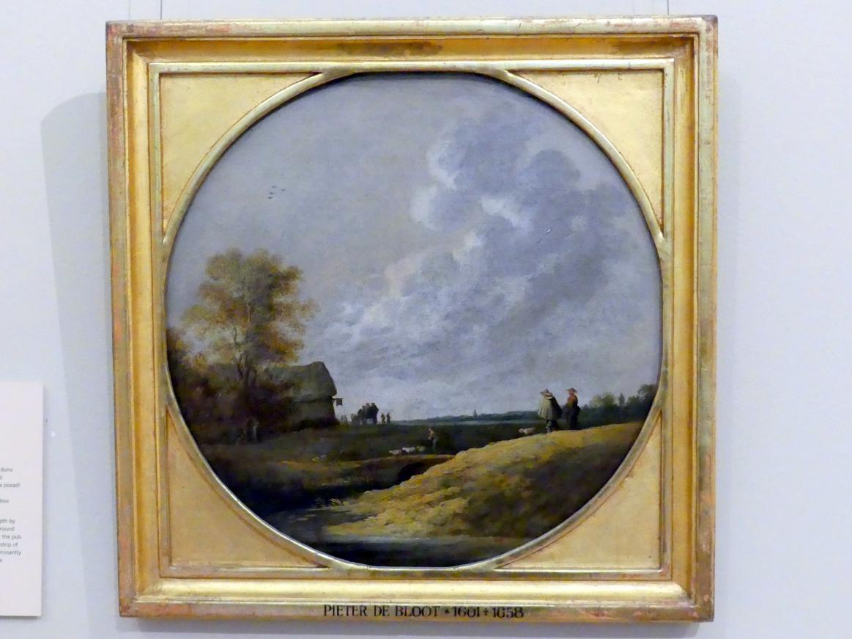 Pieter de Bloot: Flache Landschaft, Undatiert