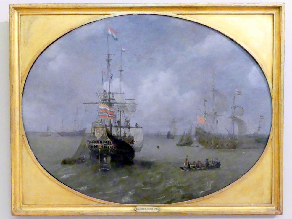 Jan Borritsz. Smit: Einschiffung der Admiralität, 1623
