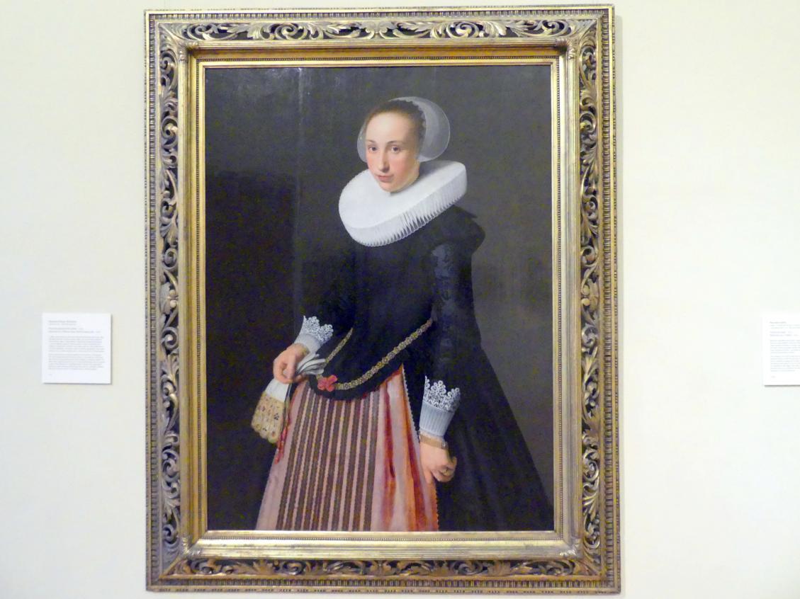 Nicolaes Eliasz. Pickenoy: Portrait einer fünfzehnjährigen jungen Dame, 1626