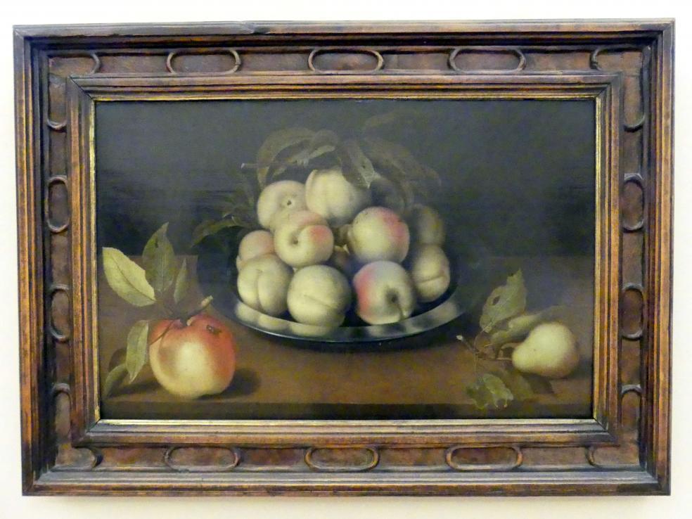 Ambrosius Bosschaert der Ältere: Stillleben mit Pfirsichen, 1620