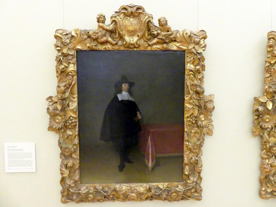 Gerard ter Borch: Portrait von Willem Marienburg II, Undatiert