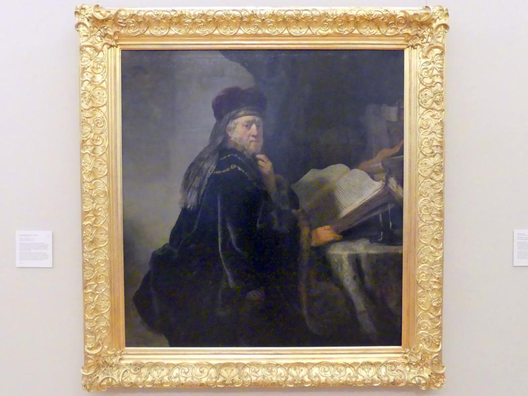 Rembrandt (Rembrandt Harmenszoon van Rijn): Gelehrter bei seinen Studien, 1634