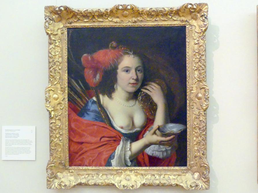 Bartholomeus van der Helst: Porträt der Ehefrau des Malers Anna du Pire als Granida, Undatiert