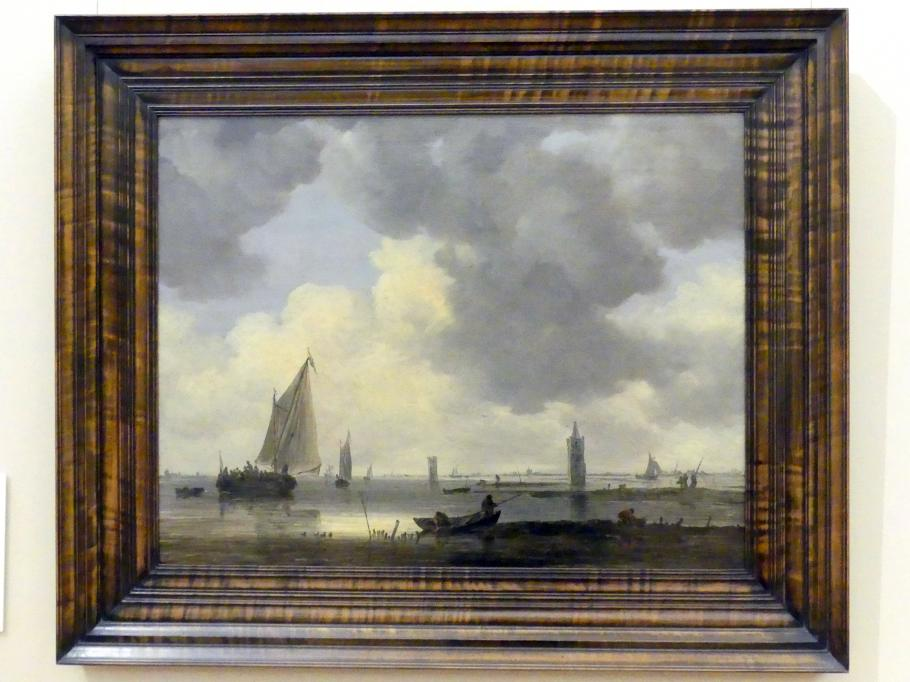 Jan van Goyen: Wachtürme an einer Flussmündung, 1646