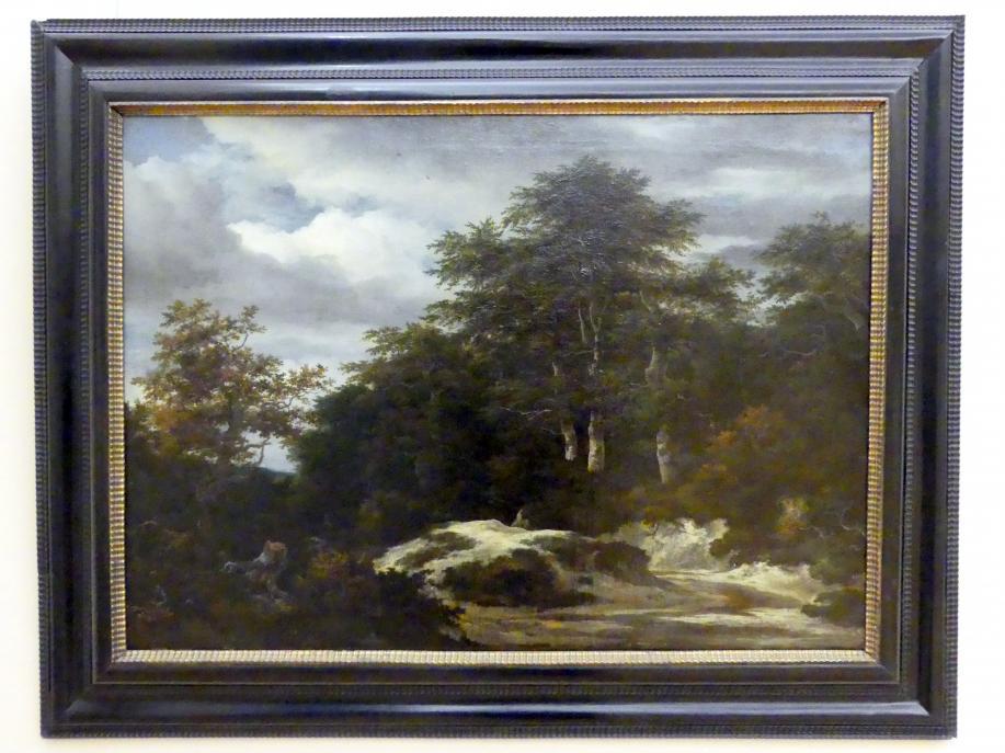 Jacob van Ruisdael: Bewaldete Landschaft mit Fluss, Undatiert