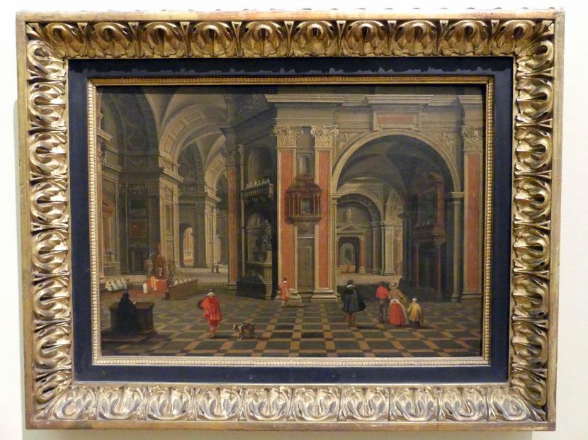 Bartholomeus van Bassen: Innenraum einer Renaissance-Kirche, 1640, Bild 1/2