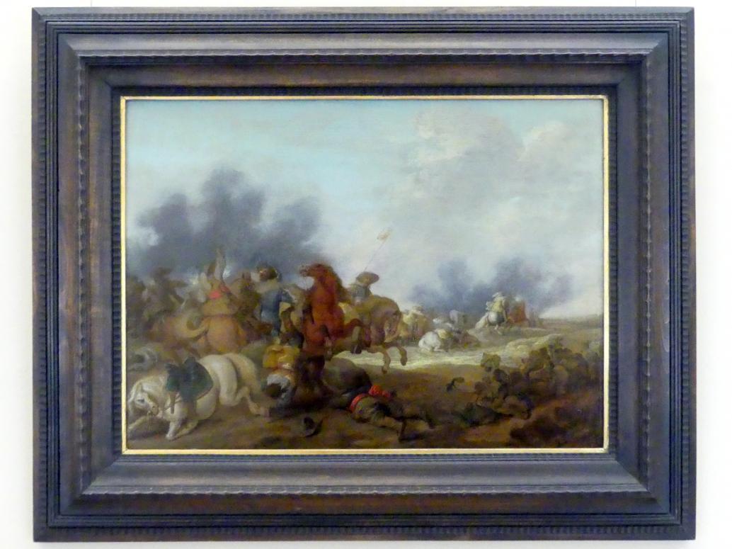 Palamedes Palamedesz (Stevaerts): Angriff auf einen Militärtransport, 1636