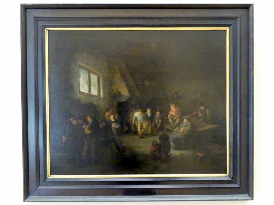 Cornelis Pietersz. Bega: Dorfschenke mit einem Geiger, Undatiert