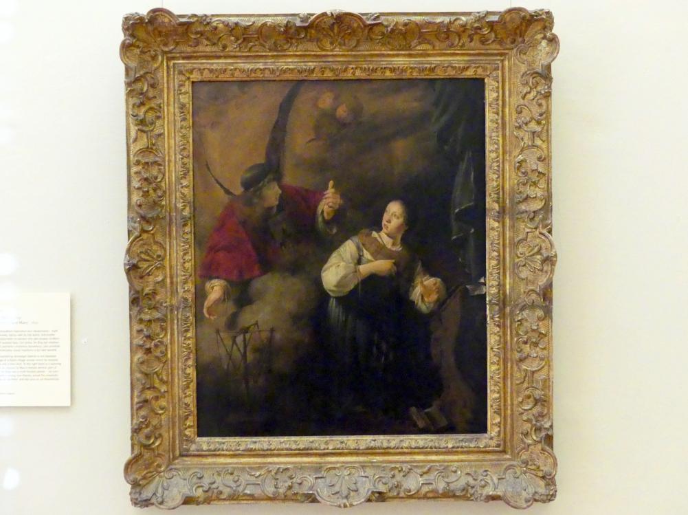 Salomon de Bray: Verkündigung an Maria, 1641