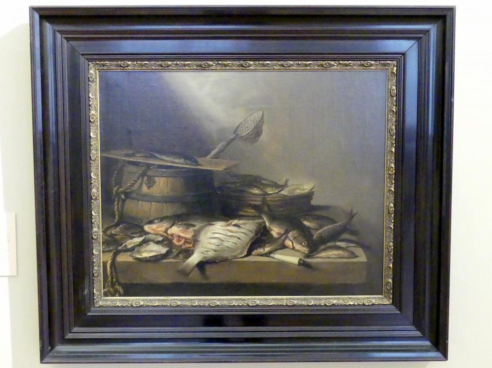 Pieter Claesz: Stillleben mit Fisch, 1660
