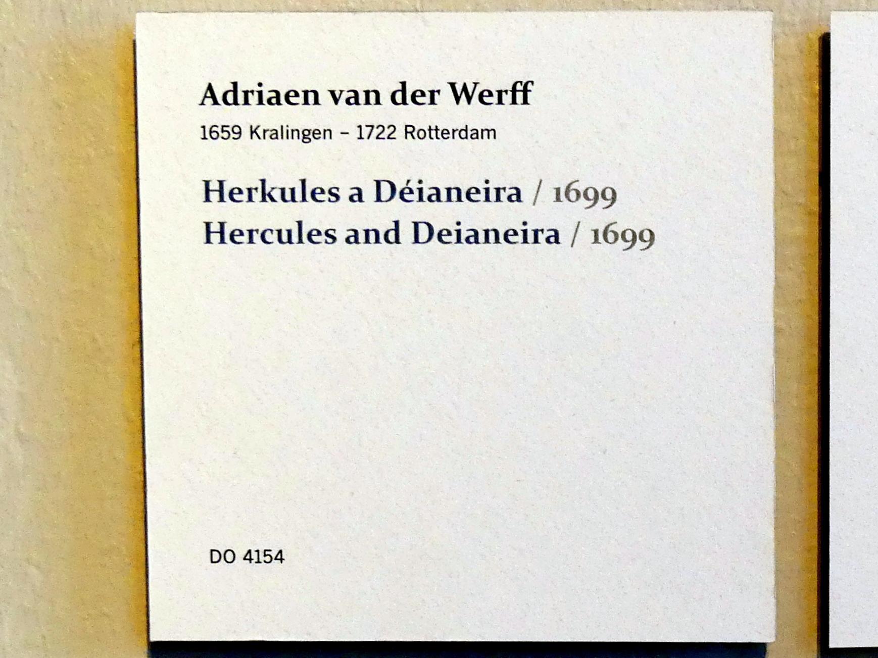 Adriaen van der Werff: Herkules und Deïaneira, 1699, Bild 2/2