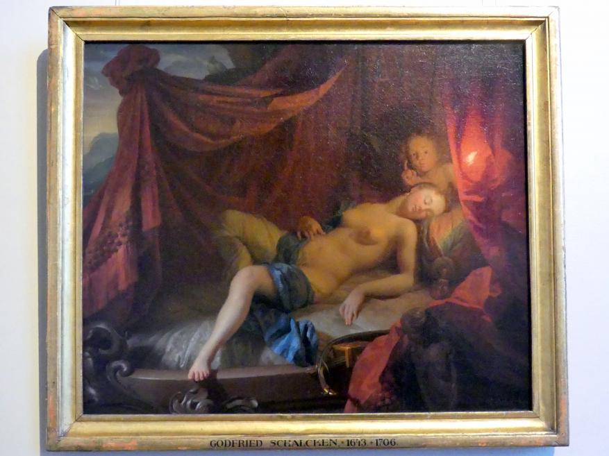 Godfried Schalcken: Schlafende Venus mit Amor, Undatiert