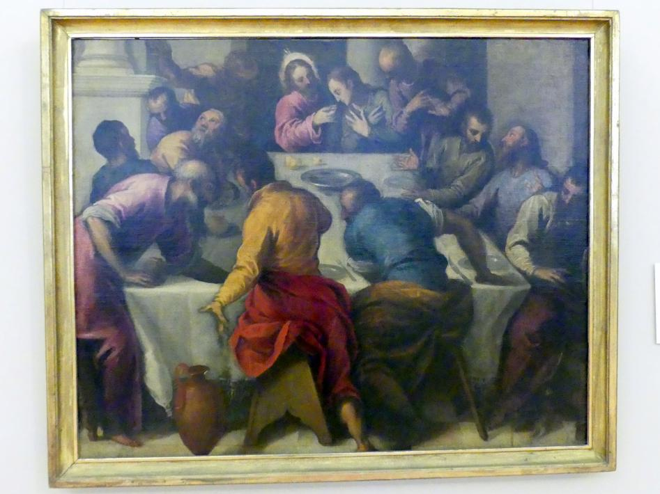 Jacopo Palma der Jüngere (Jacopo Palma il Giovane): Das letzte Abendmahl, Undatiert