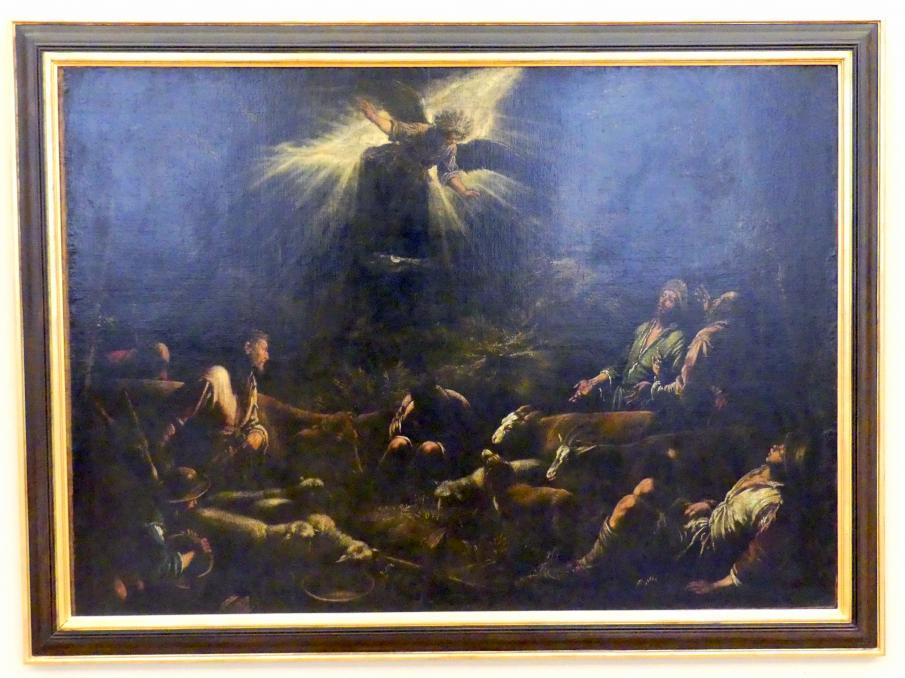 Jacopo Bassano (da Ponte): Verkündigung an die Hirten, Um 1575