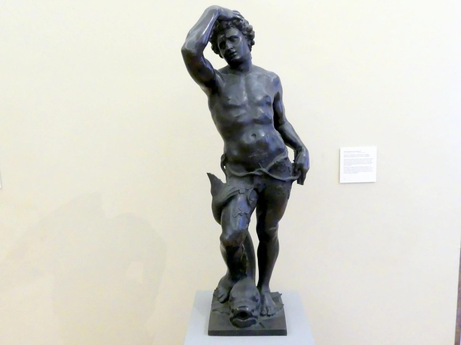 Giovanni Francesco Susini: Bacchus mit einem in einen Delphin verwandelten Seemann, Undatiert