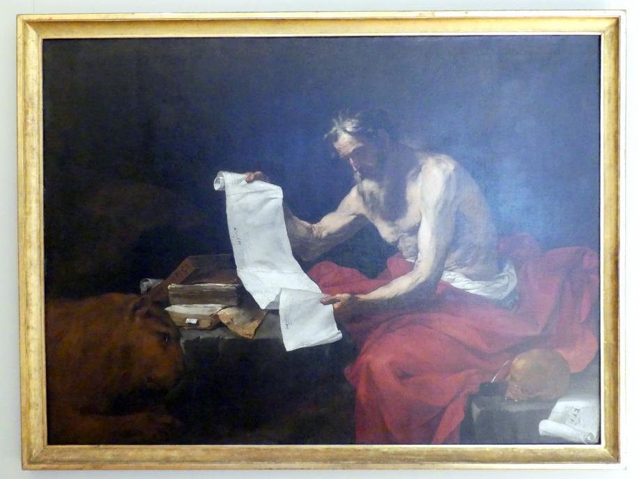 Jusepe de Ribera: Hl. Hieronymus, 1646