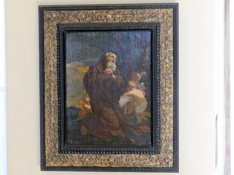 Charles Mellin: Hl. Franz von Paola im Gebet, um 1627 - 1629