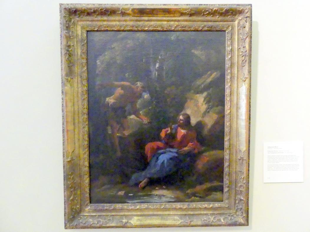 Sebastiano Ricci: Versuchung Christi, Um 1720 - 1730