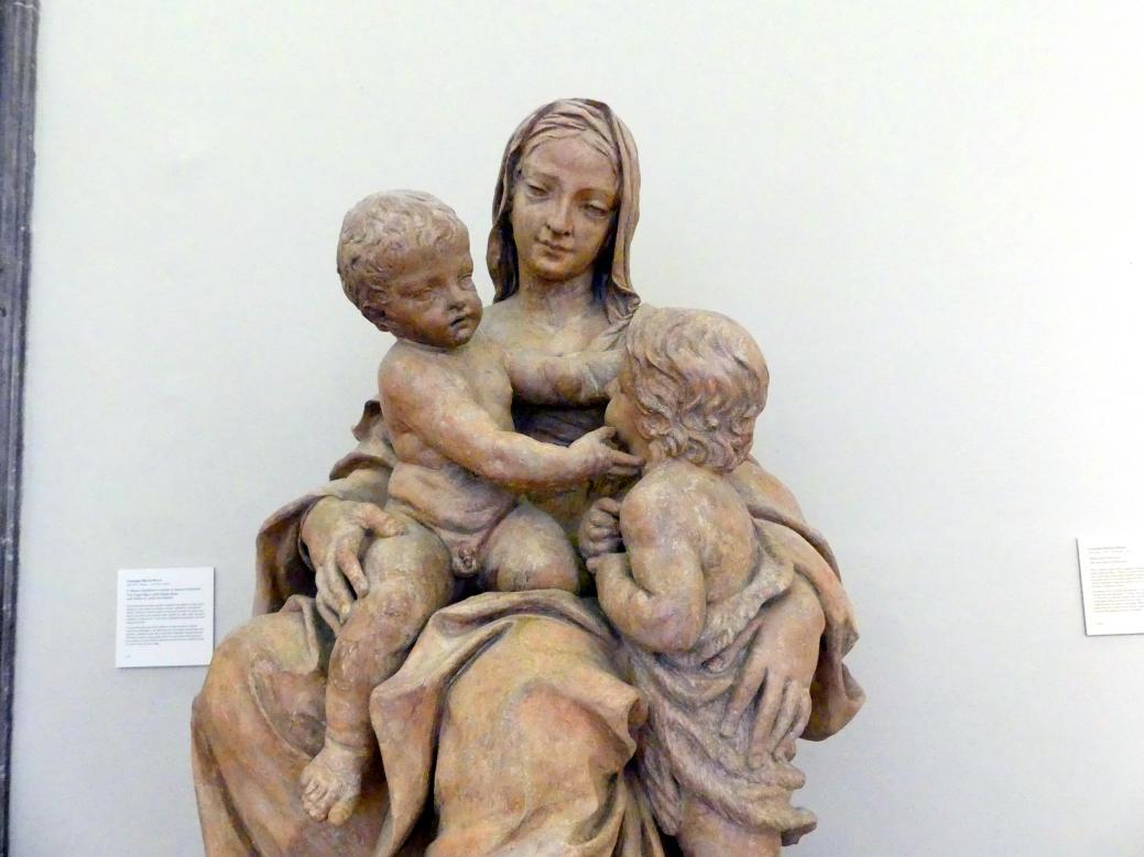 Giuseppe Maria Mazza: Maria mit dem Kind und dem Johannesknaben, Undatiert, Bild 2/3