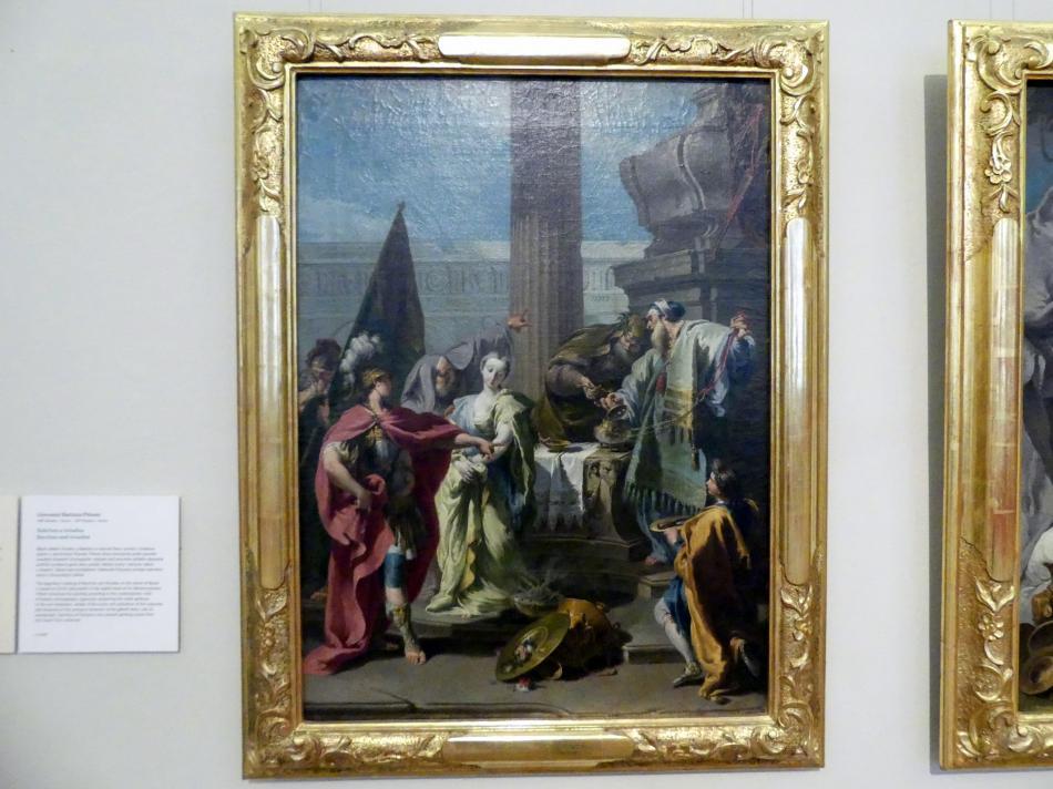Giovanni Battista Pittoni: Das Opfer von Polyxena, Undatiert