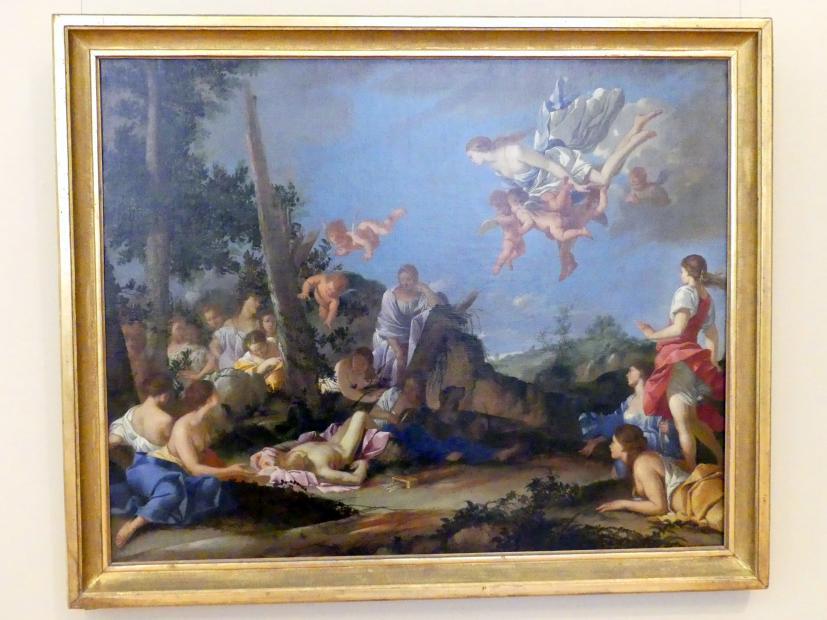 Giulio Carpioni: Venus und Nymphen trauern über den toten Adonis, 1656 - 1663
