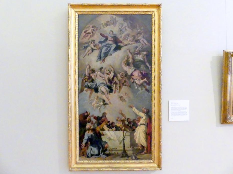 Sebastiano Ricci: Mariä Himmelfahrt, 1733 - 1734