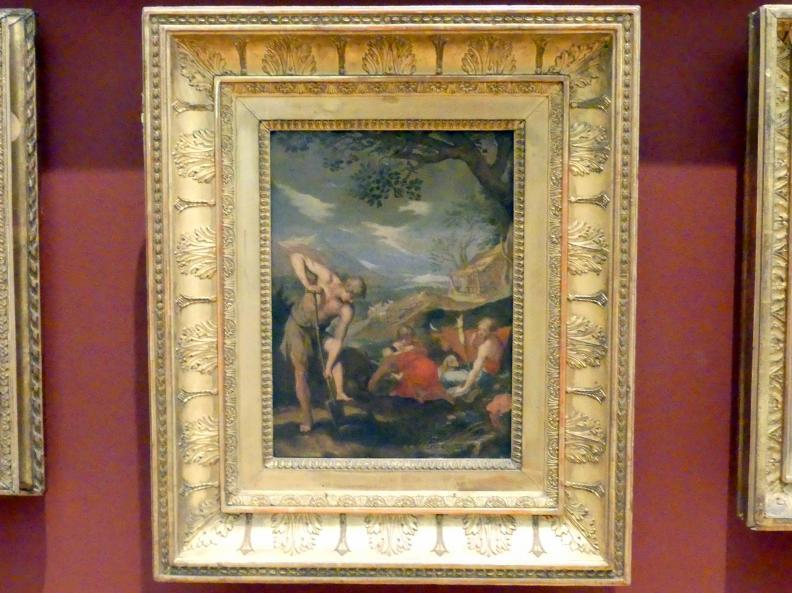 Abraham Bloemaert (Kopie): Leben der ersten Menschen (Adam und Eva mit Kindern), Undatiert