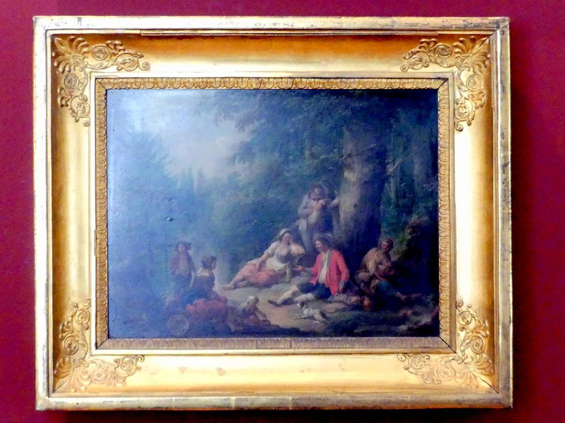 Johann Conrad Seekatz: Rastende Zigeuner, Undatiert