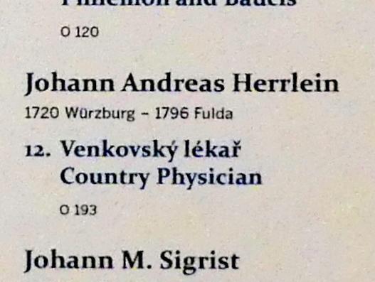 Johann Andreas Herrlein: Landarzt, Undatiert, Bild 2/2