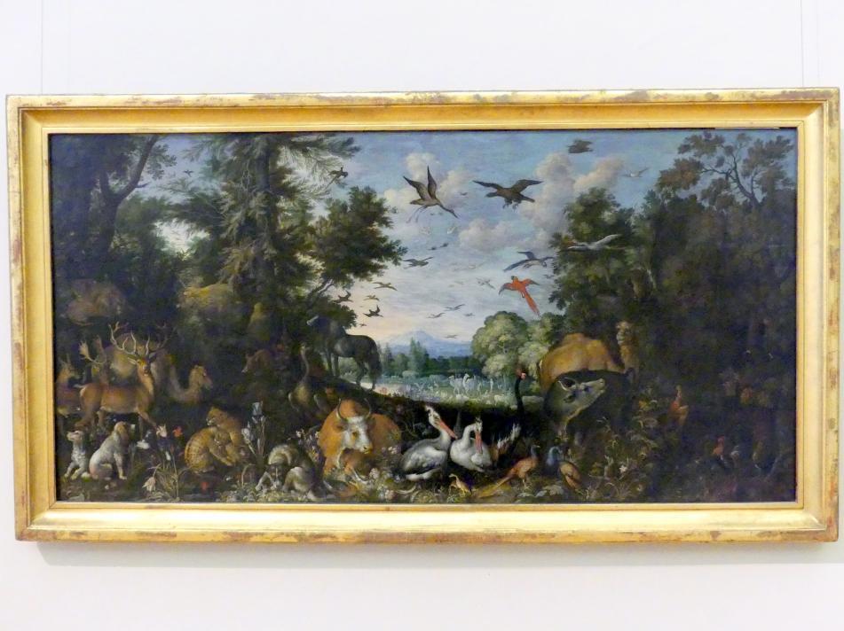 Roelant Savery: Garten von Eden, 1618