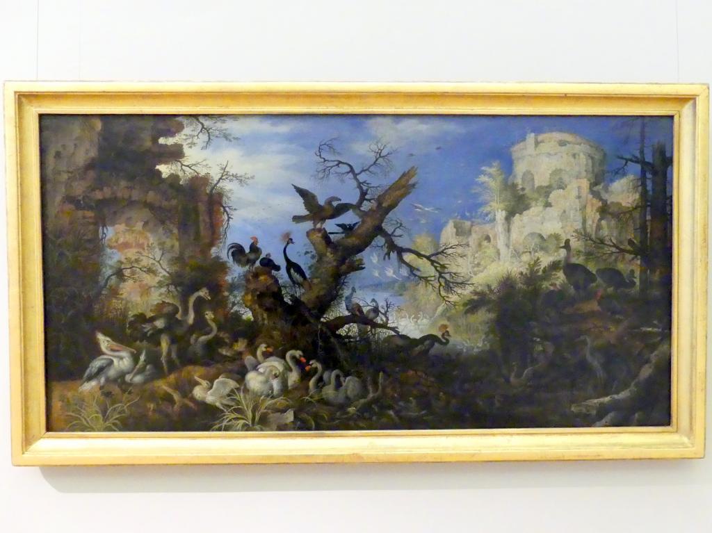 Roelant Savery: Landschaft mit Vögeln, 1622