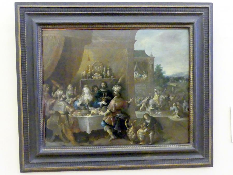 Frans Francken der Jüngere (Frans II Francken): Das Gastmahl der Esther, Undatiert