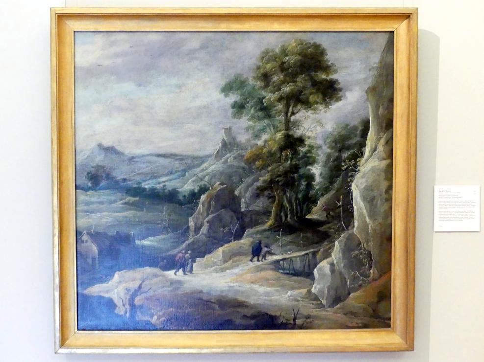 David Teniers der Jüngere: Felsige Landschaft mit Pilgern, Undatiert