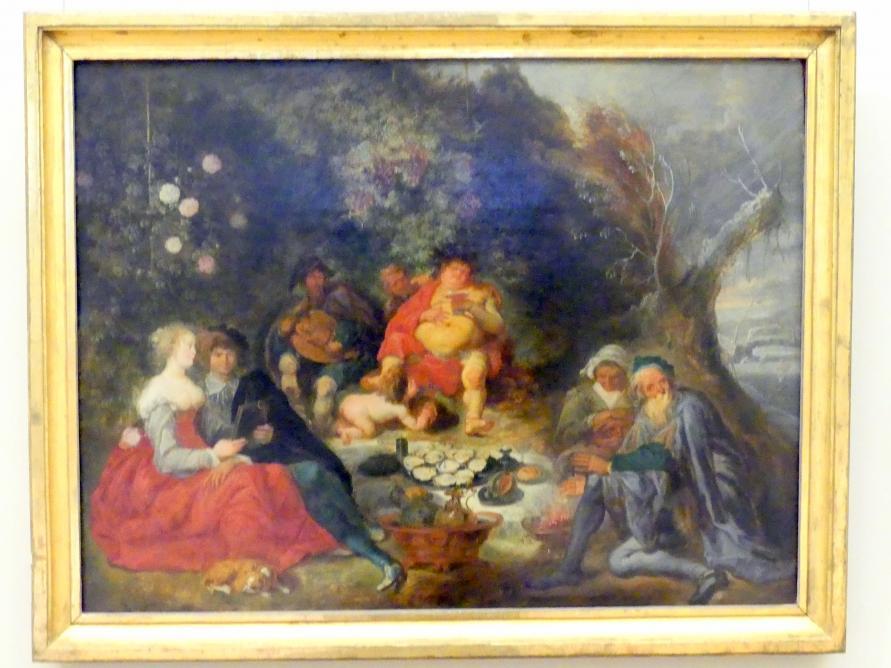 Simon de Vos: Allegorie der vier Jahreszeiten und vier Menschenalter, 1635