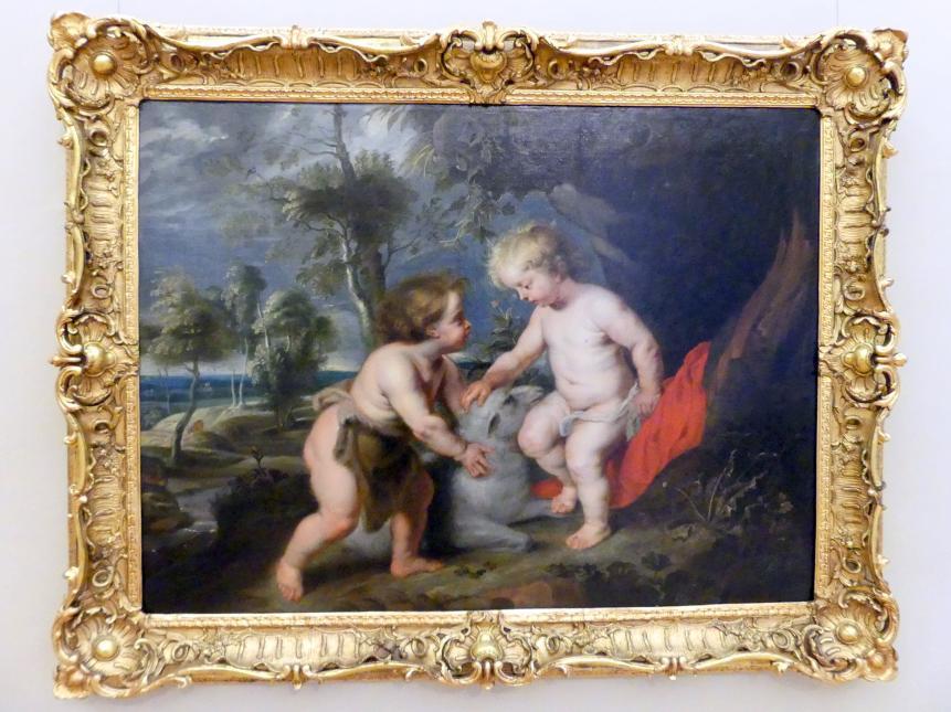 Peter Paul Rubens: Jesusknabe und der Johannesknabe, Undatiert
