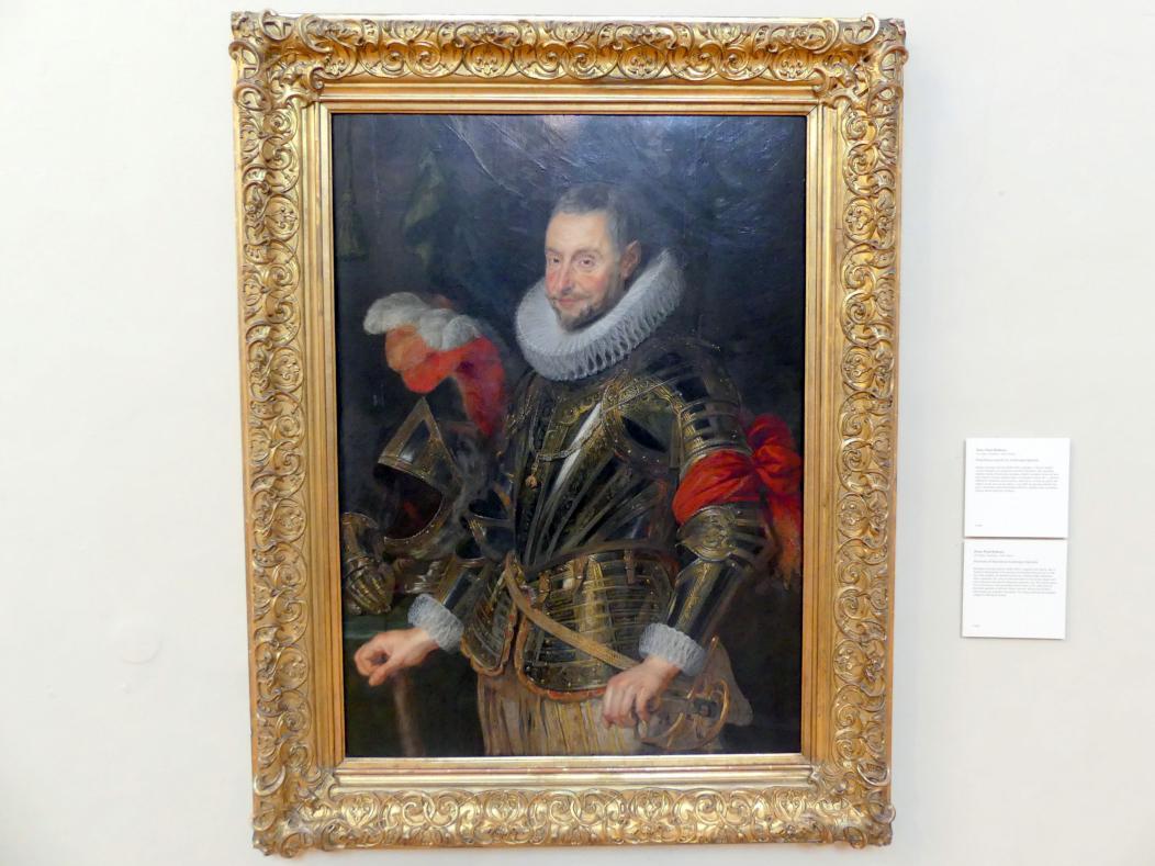 Peter Paul Rubens: Portrait des Marquis Ambrosio Spinola, Undatiert