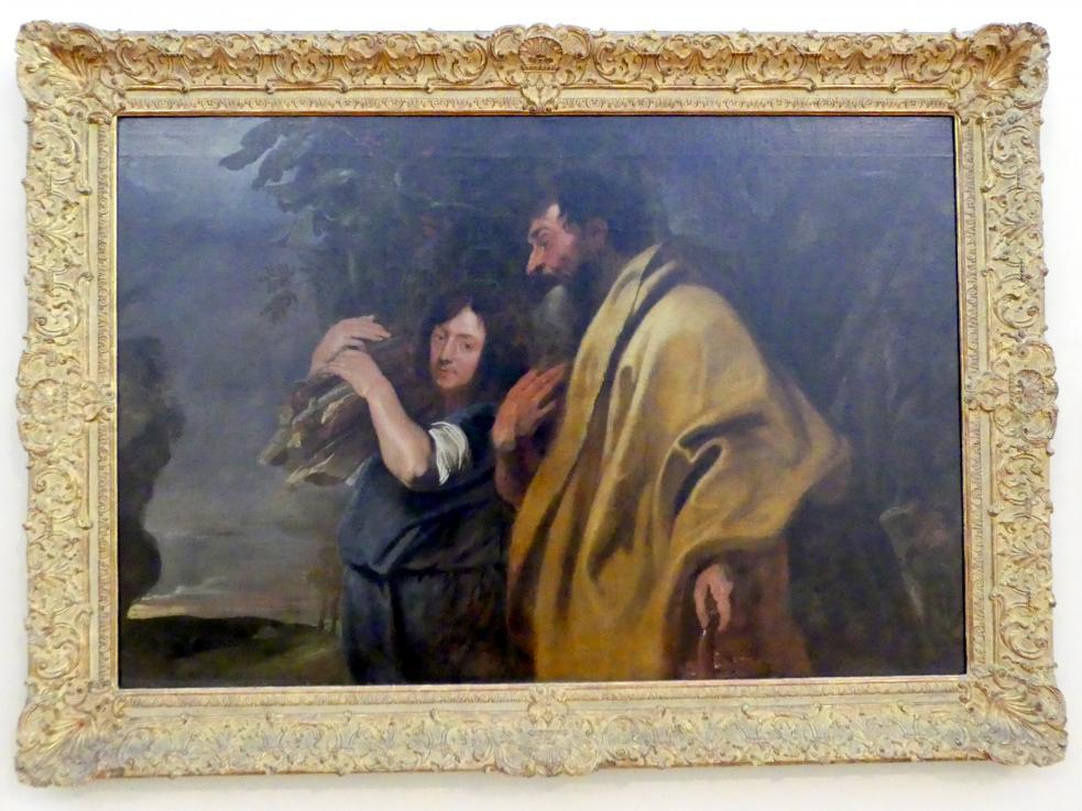 Anthonis (Anton) van Dyck: Abraham und Isaak auf dem Weg zur Opferstelle, Vor 1620