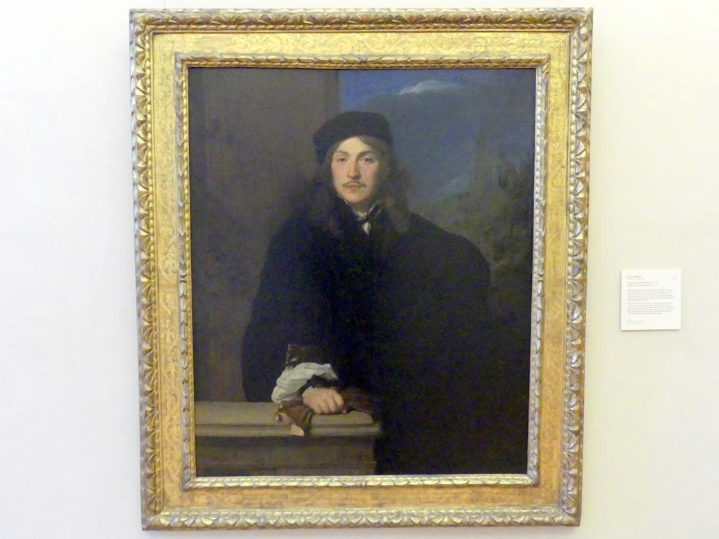 Pierre Mignard: Portrait eines jungen Mannes, 1654