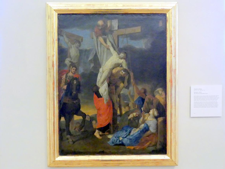 Charles Le Brun: Kreuzabnahme Christi, Undatiert