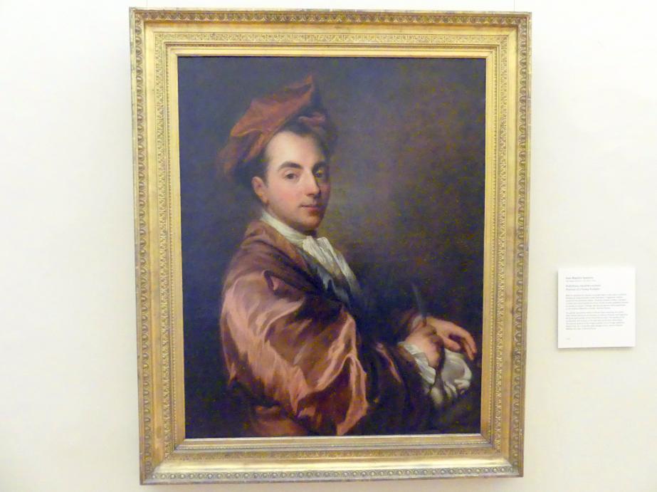 Jean-Baptiste Santerre: Portrait eines jungen Bildhauers, Undatiert