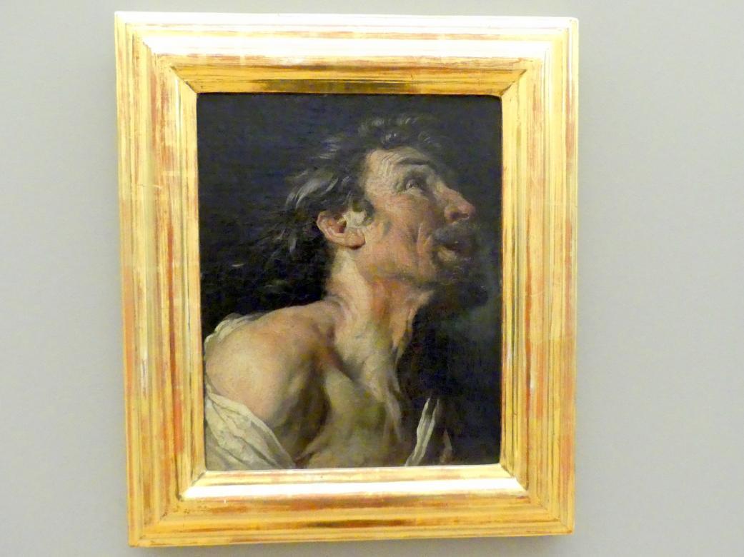 Pierre Goudreaux: Studie eines alten Mannes im Profil, 1727