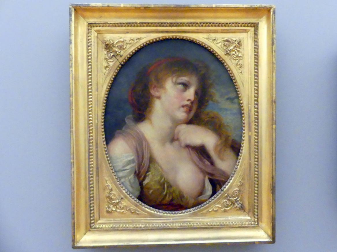 Jean-Baptiste Greuze: Portrait eines jungen Mädchens, Undatiert