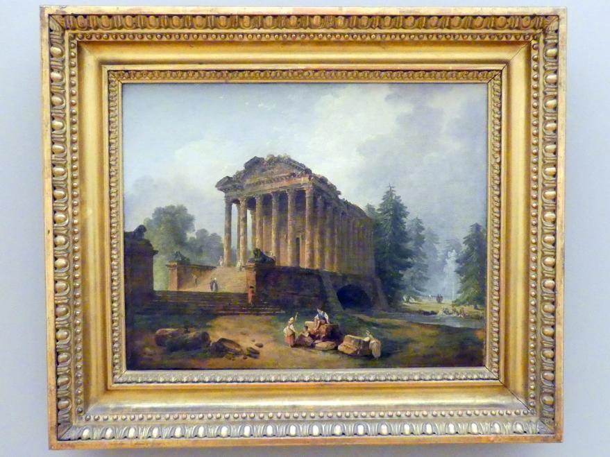 Hubert Robert: Im Park, 1783