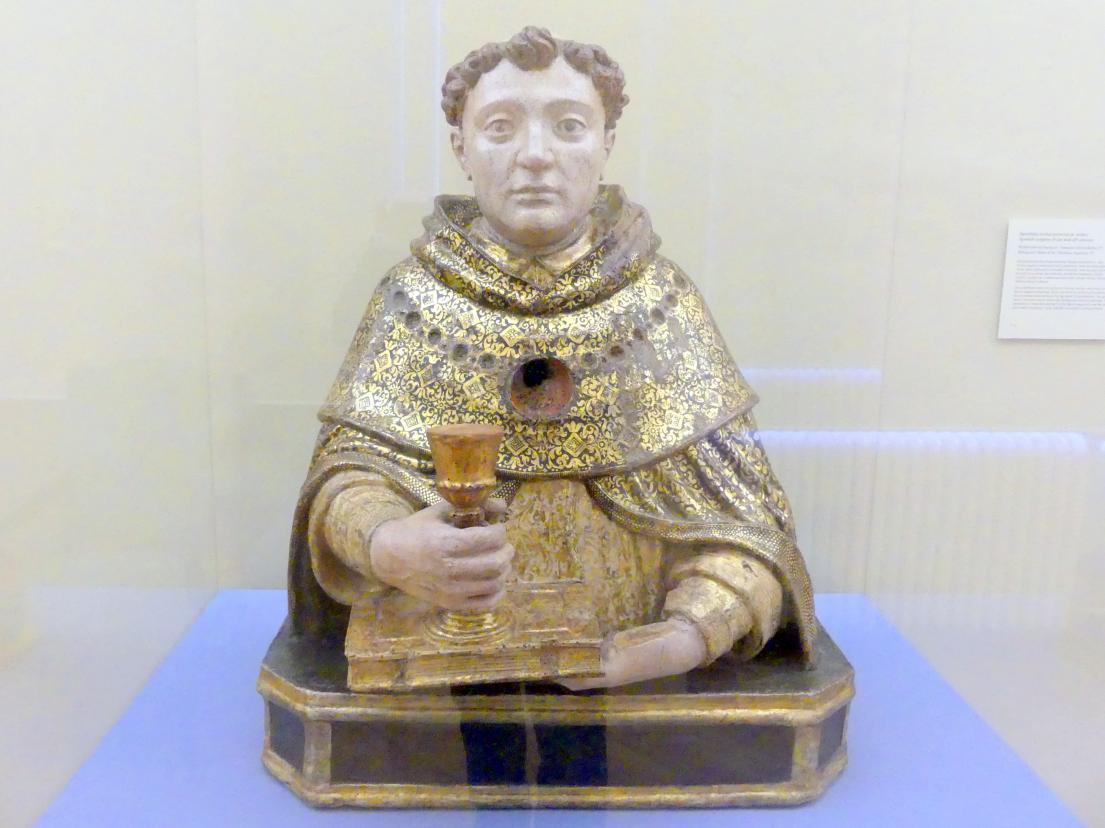Reliquienbüste von Thomas von Aquin (?), Mitte 16. Jhd.
