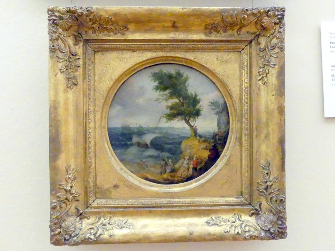 Adam Willaerts: Felsige Landschaft mit stürmischer See, 1625