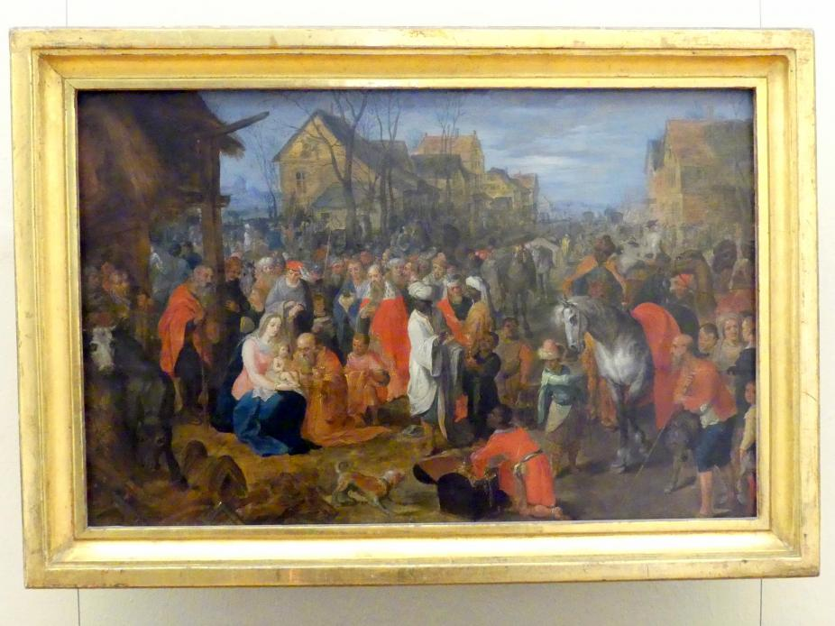Jan Brueghel der Jüngere: Anbetung der Könige, Undatiert